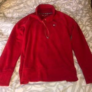 Tommy Hilfiger bright red sport sweatshirt
